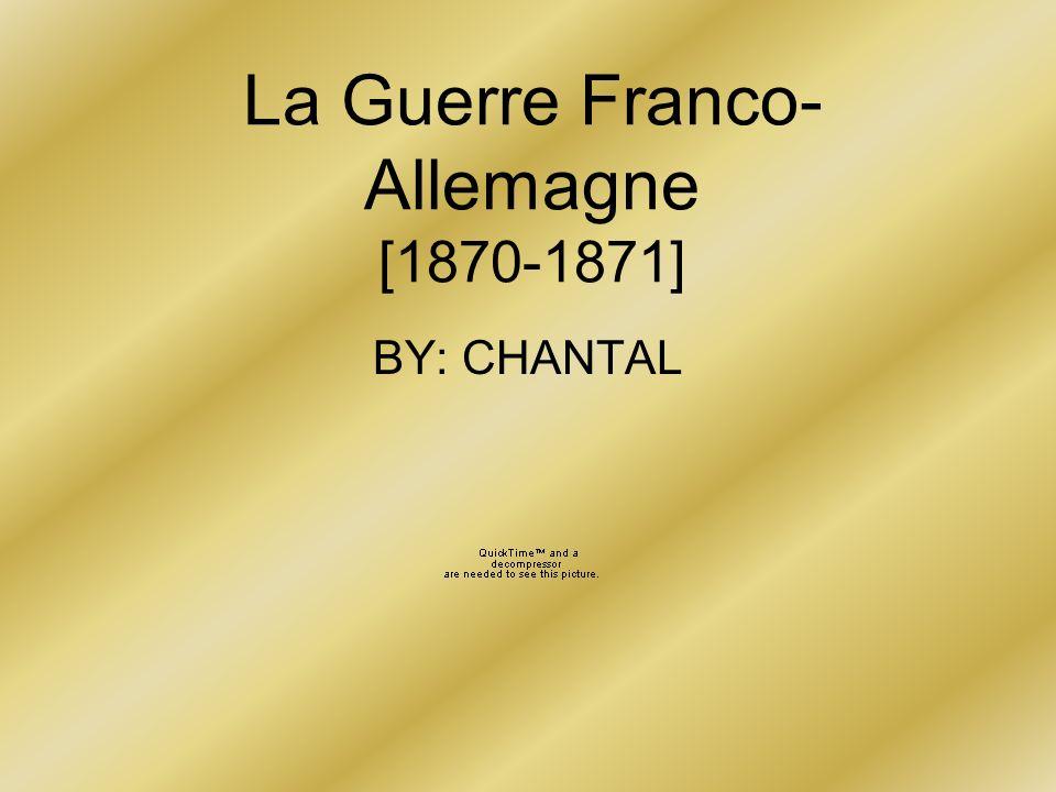 La Guerre Franco-Allemagne [1870-1871]